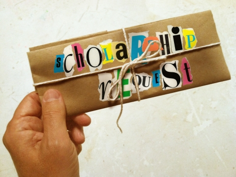 scholarship request-closed