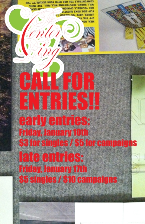 call for entries-11x17