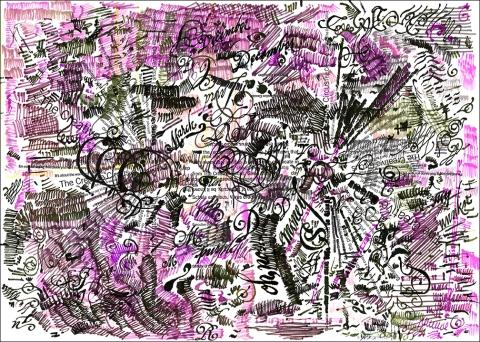CERTIFICATE doodles 2B