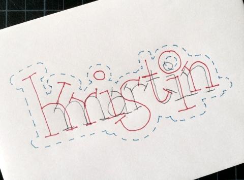 KRISTIN MARTIN envelope