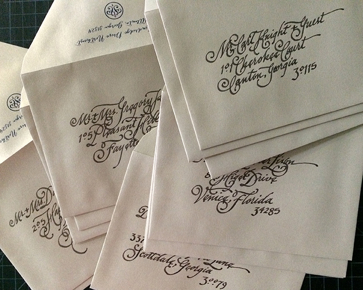 addressed envelopes-LOW
