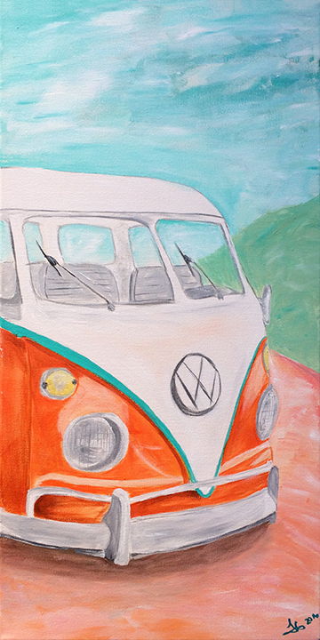 finny paints vw van-LOW