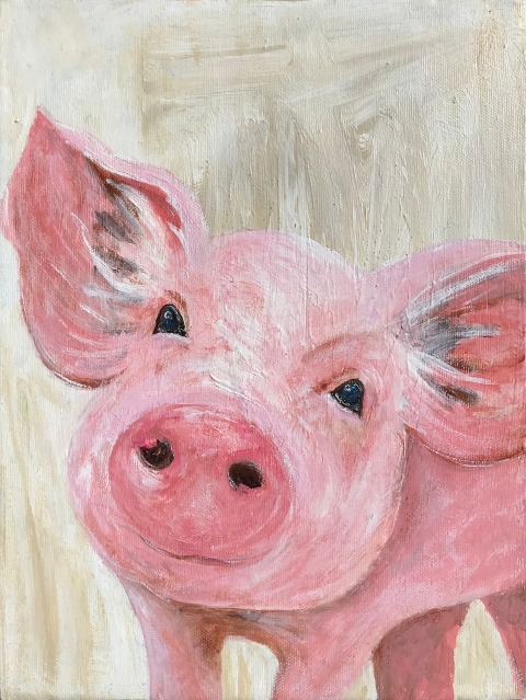 pink pig-LOW